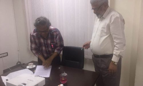 MOU signing with IIT Kanpur- for Research in Cancer care with Ayurveda Intervention