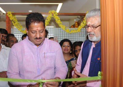 Inauguration of RISA Restoration Clinic at Yelahanka by Sri S R Viswanath (MLA, Yelahanka)