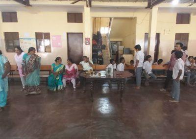 Camp at NAMMA Sneha shadhan | RISA
