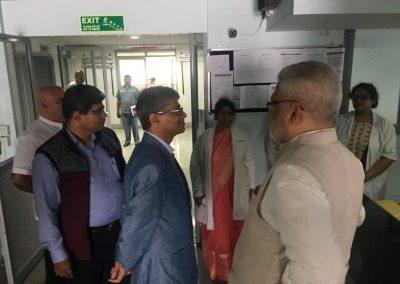 Visit of Secretary, AYUSH on 27.11.2019